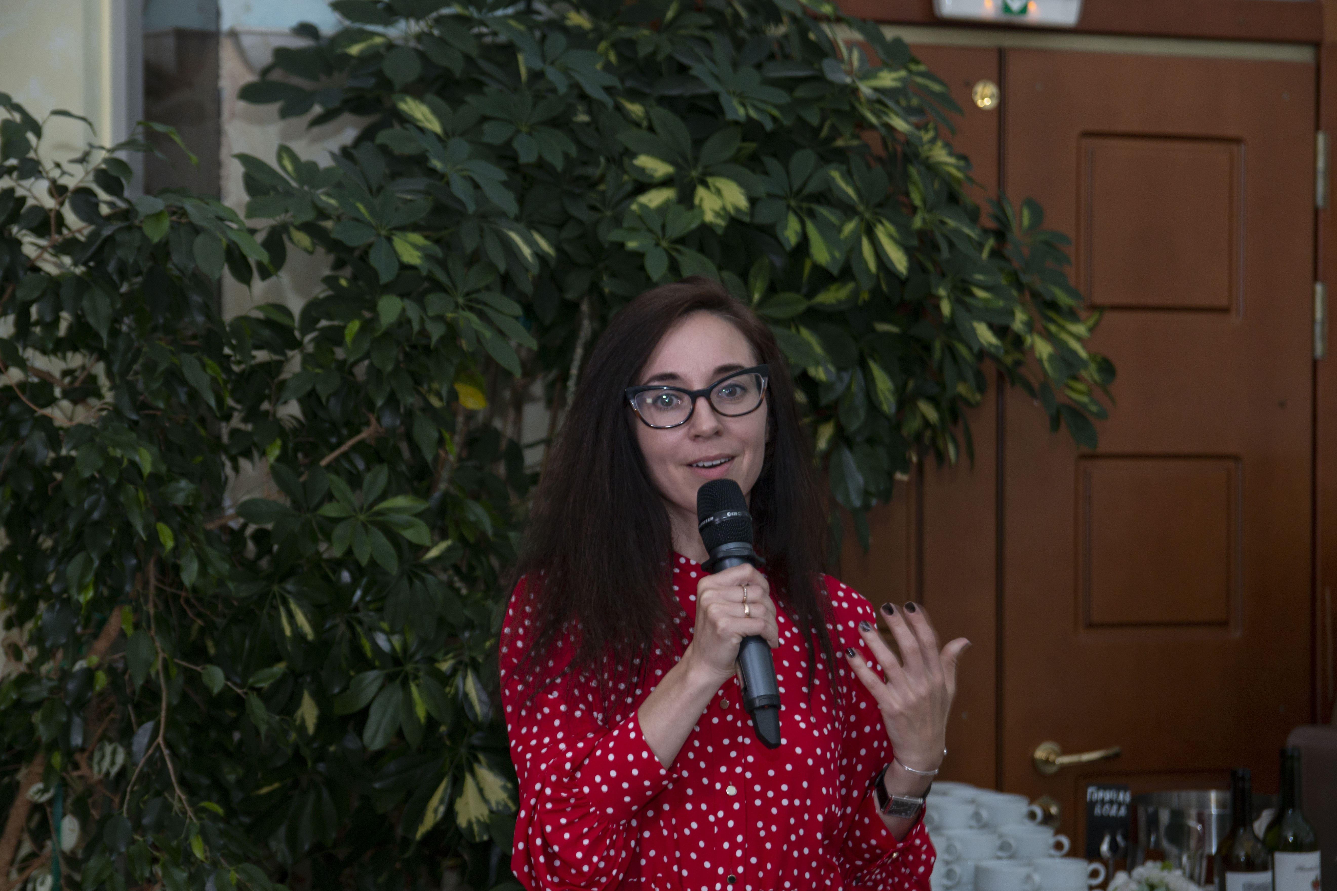 Заседание, посвященное старту конкурса грантовых проектов: эксперт конкурса Наталья Мишина