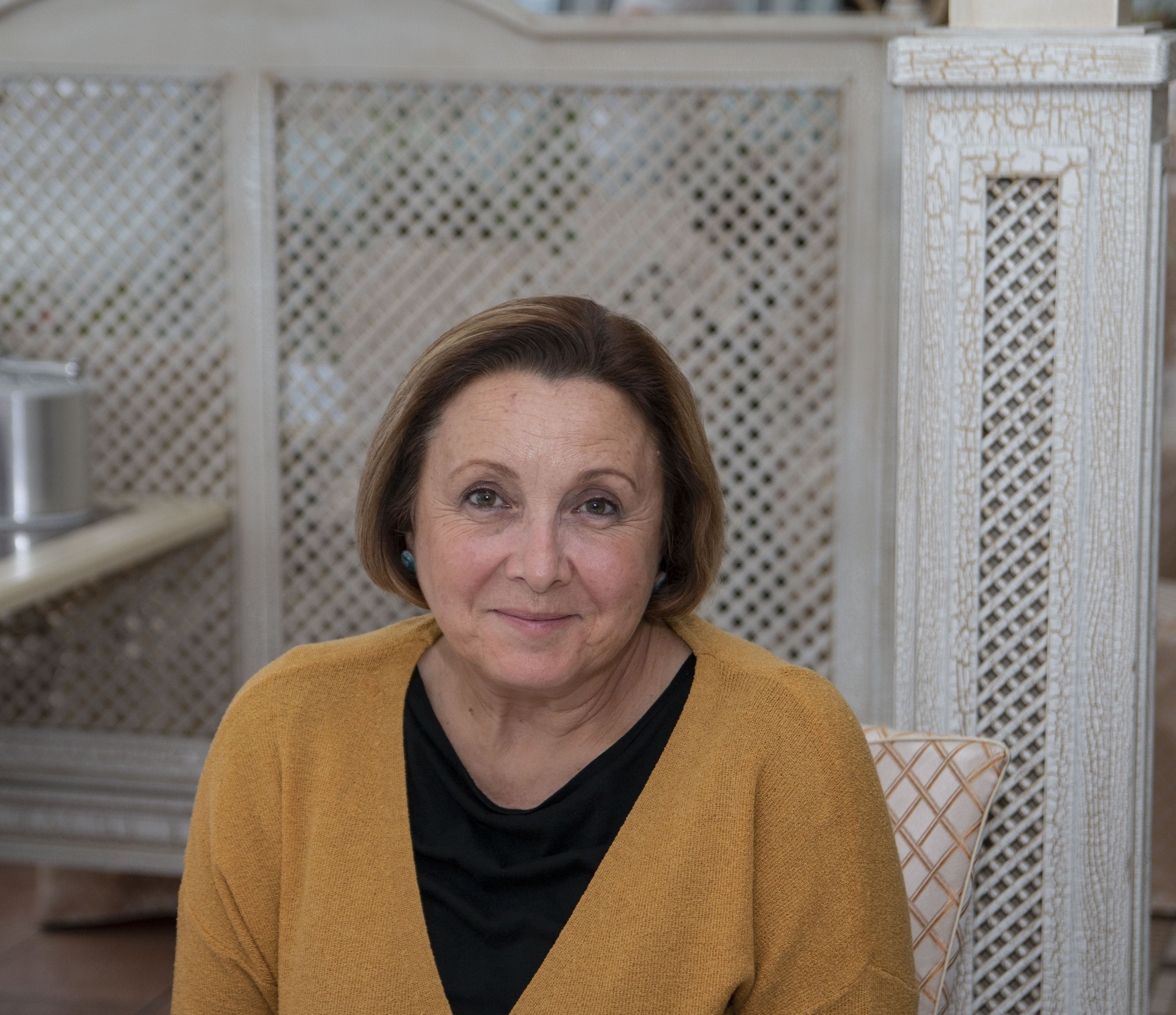 Заседание, посвященное старту конкурса грантовых проектов: эксперт конкурса Жанна Сугак
