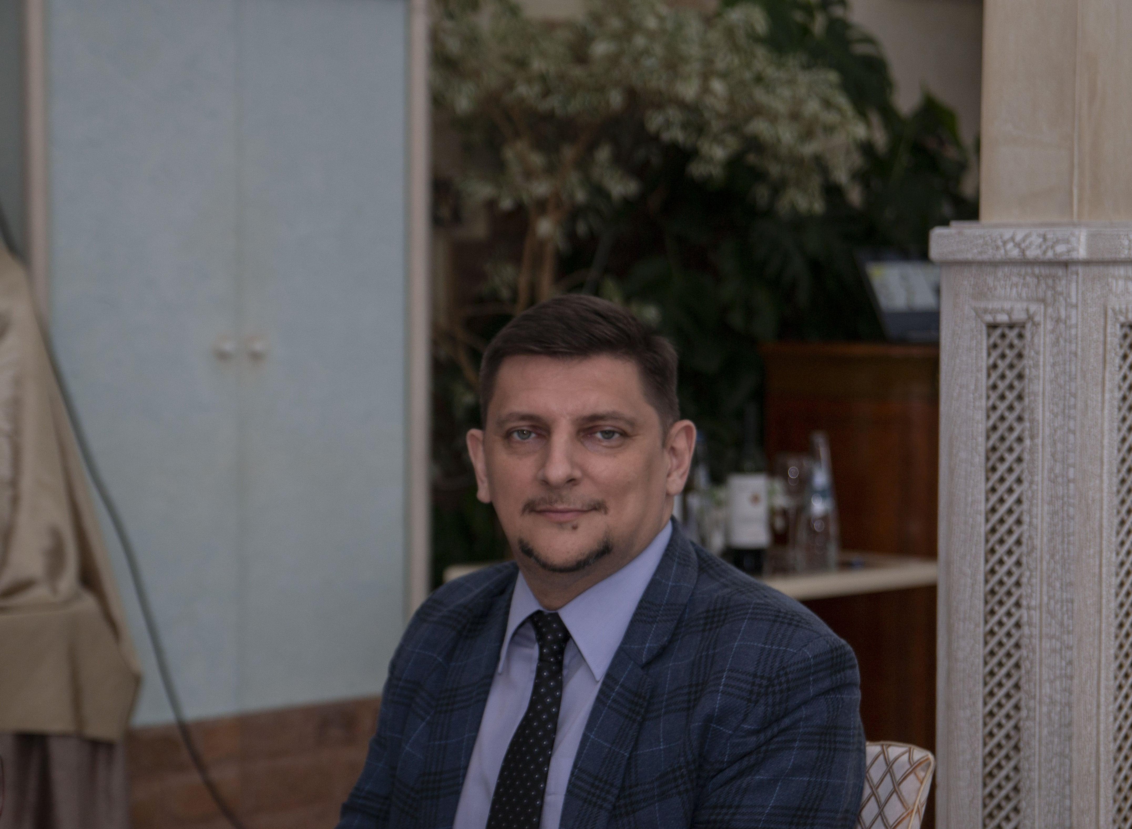 Заседание, посвященное старту конкурса грантовых проектов: эксперт конкурса Алексей Конобеев