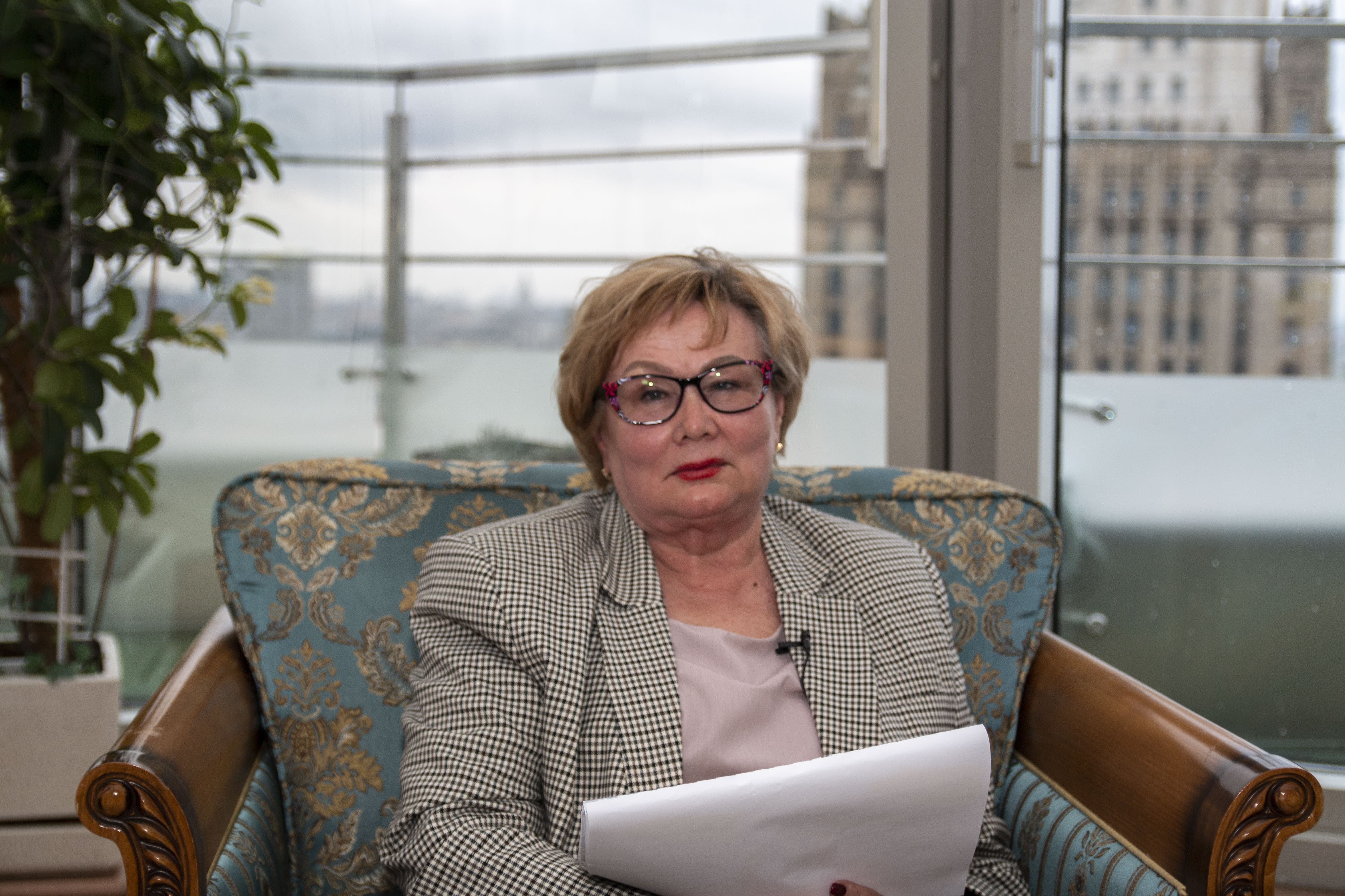Заседание, посвященное старту конкурса грантовых проектов: эксперт конкурса Татьяна Болотина