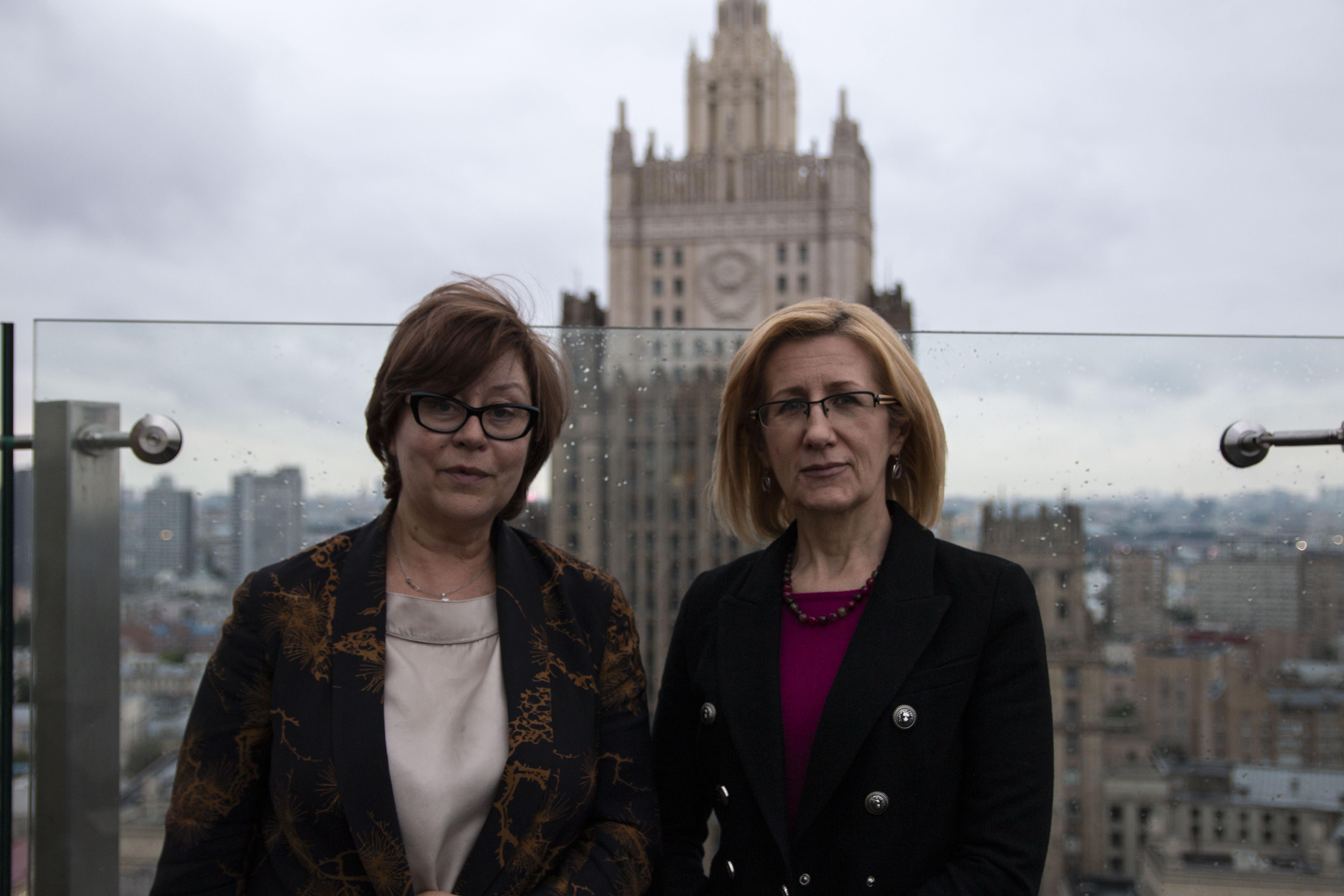Заседание, посвященное старту конкурса грантовых проектов: эксперты конкурса Татьяна Волосовец и Елена Кутепова