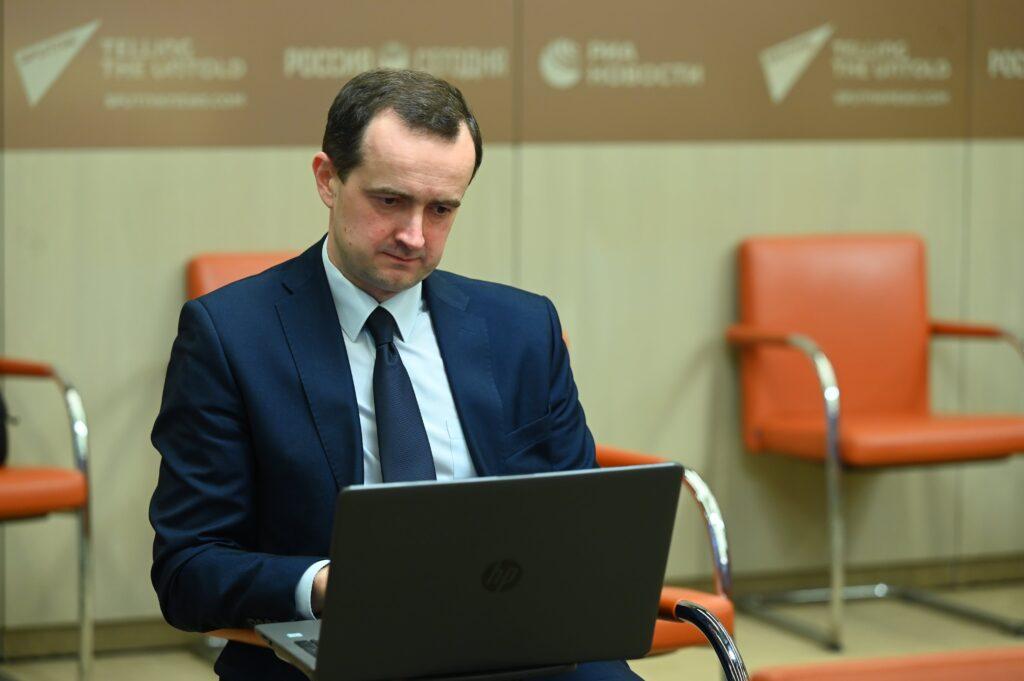 Пресс-конференция Обрсоюза, посвященная запуску конкурса «СОТ»: пресс-секретарь Владимир Шулов