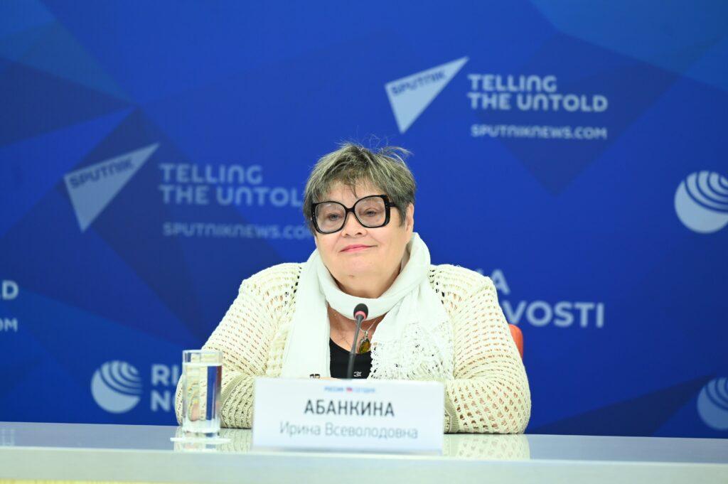 Пресс-конференция Обрсоюза, посвященная запуску конкурса «СОТ»: эксперт Ирина Абанкина