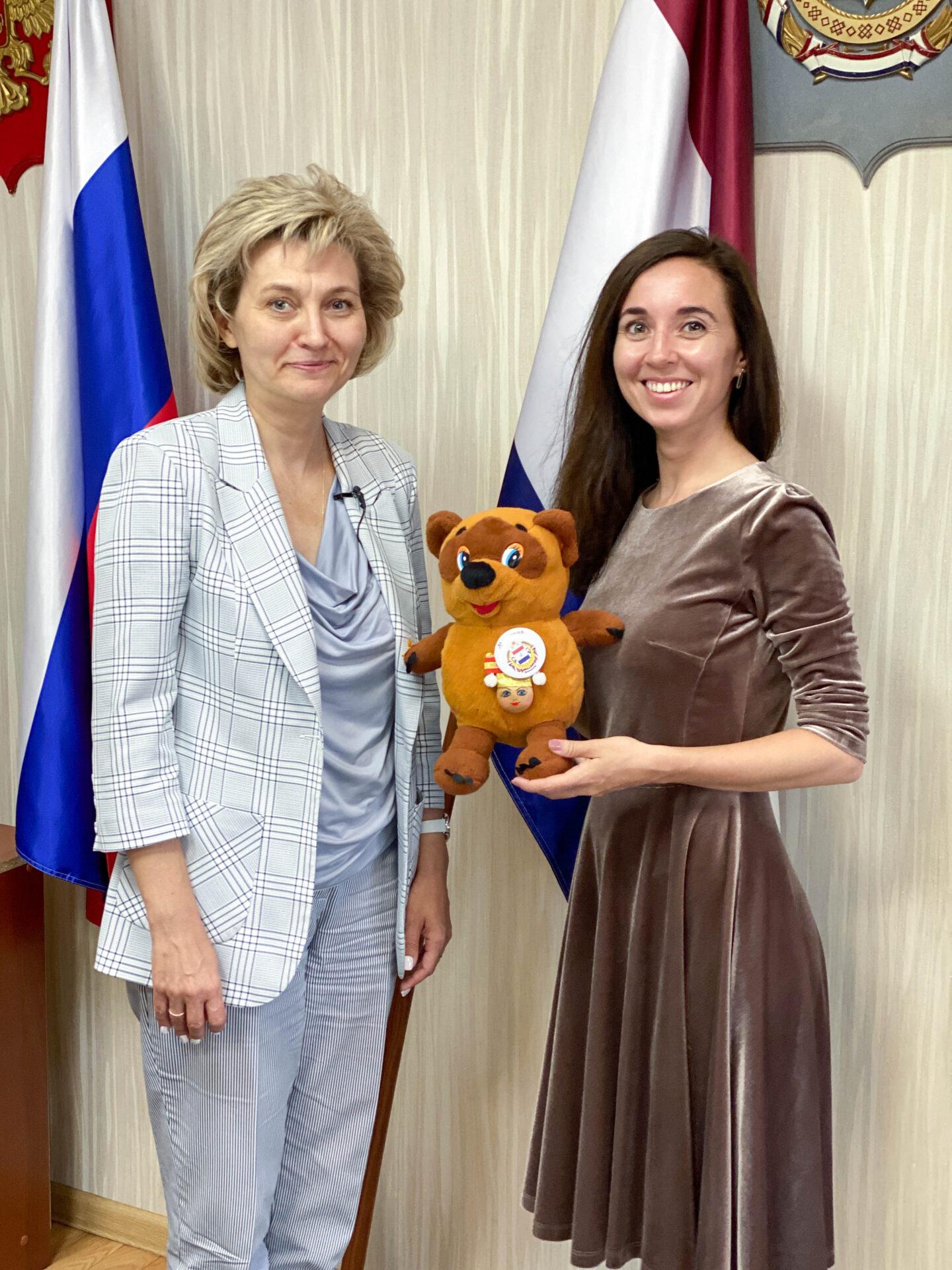 Образовательная экспедиция СОТ в Республику Мордовию: интервью с и. о. министра образования