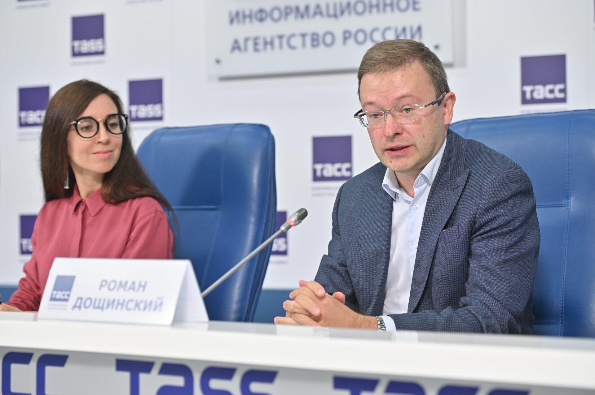 Пресс-конференция по итогам первого этапа конкурса СОТ: Роман Дощинский, председатель региональной предметной комиссии ЕГЭ