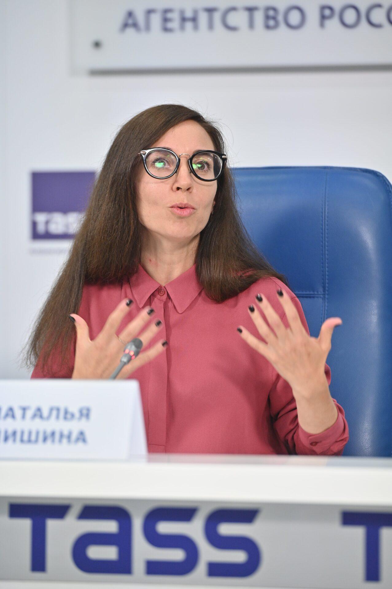 Пресс-конференция по итогам первого этапа конкурса СОТ: Наталья Мишина, руководитель по связям с общественностью «Обрсоюза»