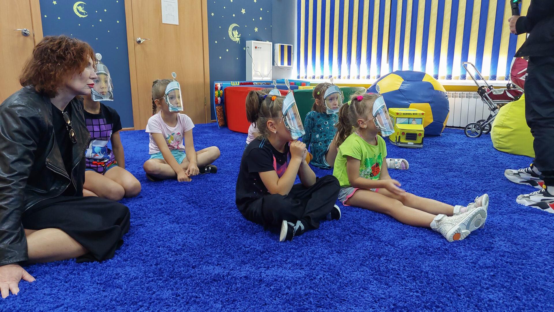 Образовательная экспедиция СОТ в Камчатский край: занятие с воспитанниками детского сада №70 «Россияночка»