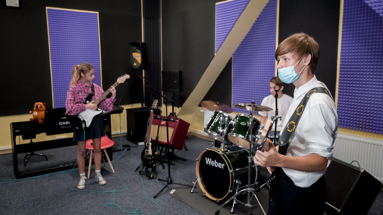 Образовательная экспедиция СОТ в Томскую область: музыкальная студия школы «Интеграция»