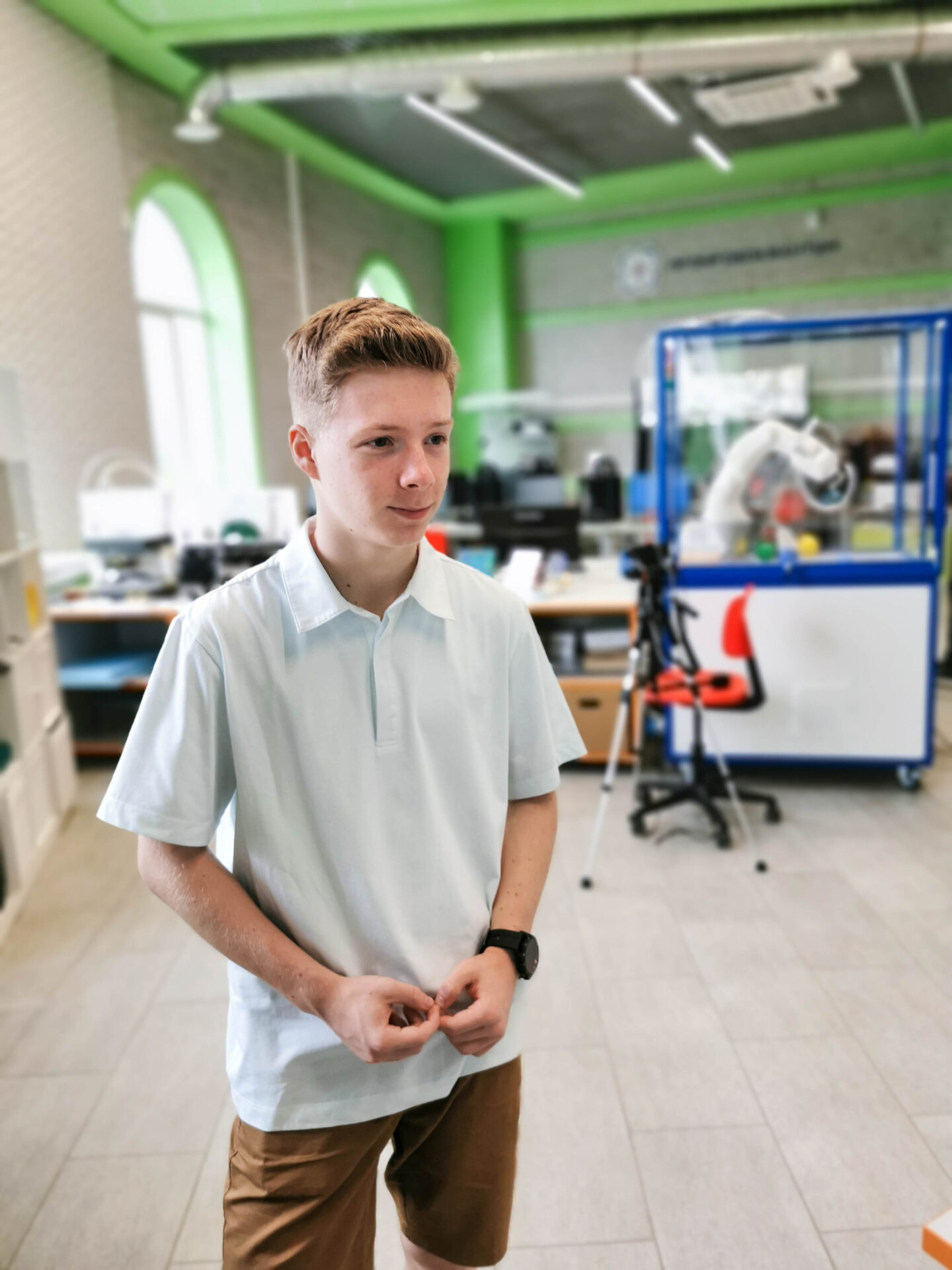 Образовательная экспедиция СОТ Ивановскую область: воспитанник центра технического творчества «Новация»