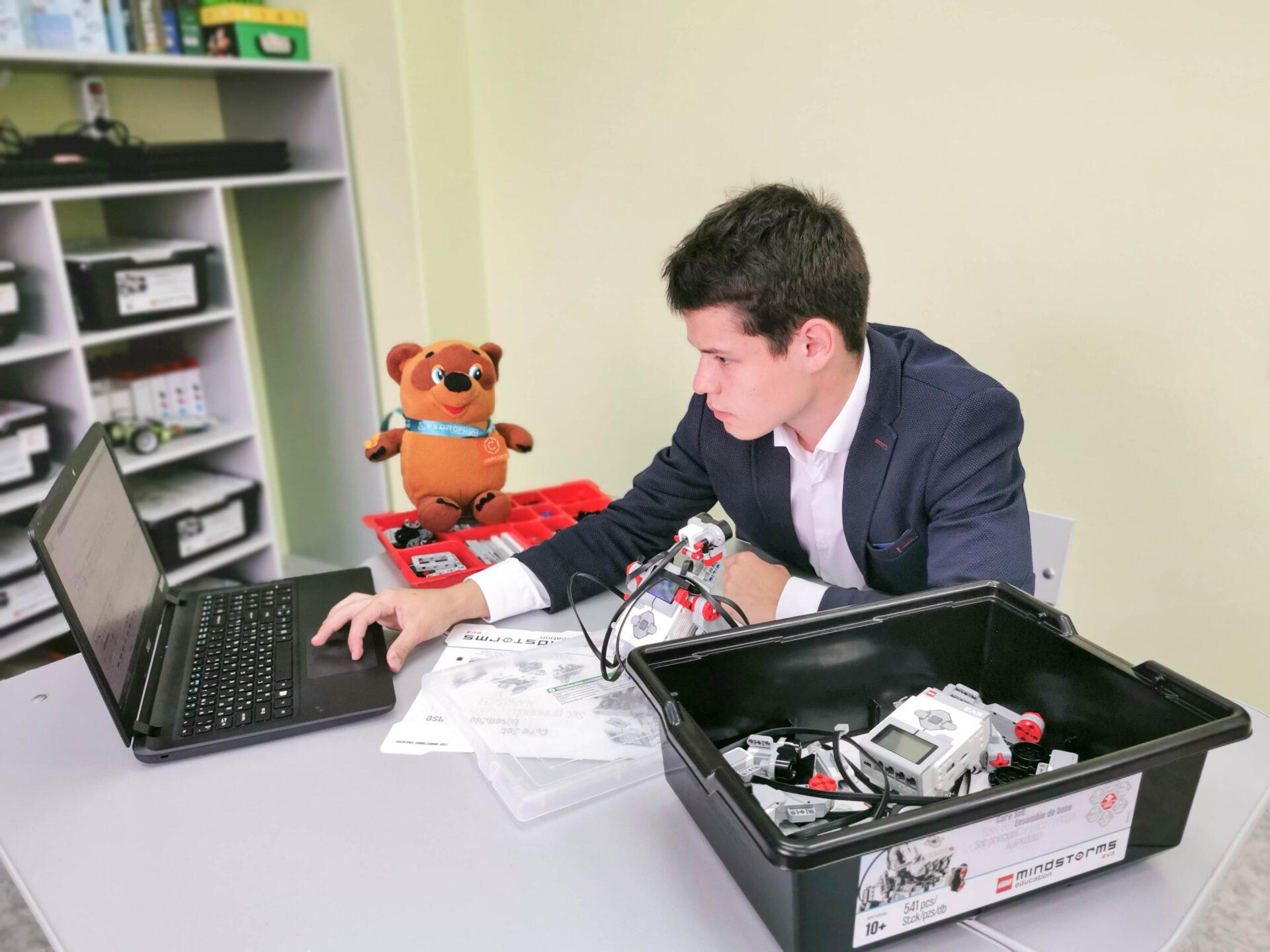 Образовательная экспедиция СОТ в Ивановскую область: создание программируемого робота