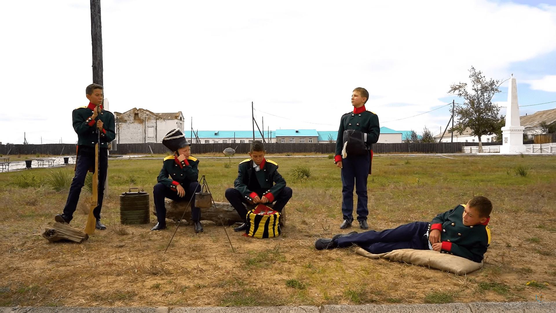 Образовательная экспедиция СОТ в Республику Бурятия: выступление учеников старейшей школы Бурятии