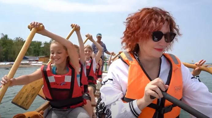 Образовательная экспедиция СОТ в Приморский край: гребля на лодках